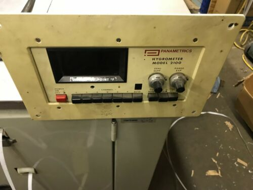 Panametrics Hygrometer Moisture Analyzer Model 2100 Vintage Electronics