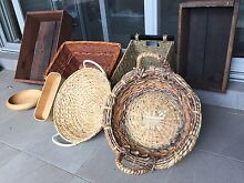 Crates and baskets ( All in the picture for $40 ONLY) Erskineville Inner Sydney Preview