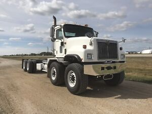 2002 International Paystar 5500i T/A T/A Cab and Chassis