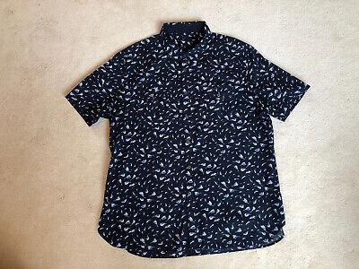 John Varvatos Mens Short Sleeved Shirt XXL