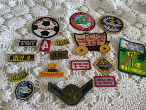 Boy Scout Fleetwood States Misc Mixed Lot of Patches Vintage