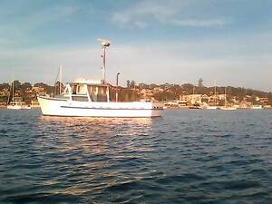 live aboard ex trawler wooden boat gm 671 Waterford Logan Area Preview
