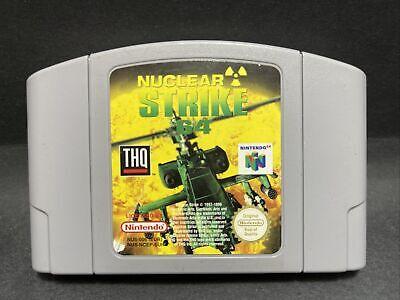 N64 Nintendo 64 Game - Nuclear Strike 64 - PAL