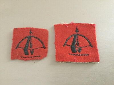 WW2 ANTI AIRCRAFT COMMAND FORMATION BADGES Circa 1944