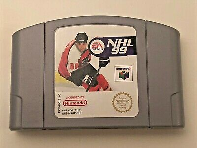 Nintendo 64 - NHL 99 - N64 Cart - Classic Game! Fast Post!