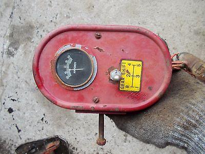 Farmall Ih H Hv Tractor Amp Gauge Box Ih Gauge W Wire Wiring Harness