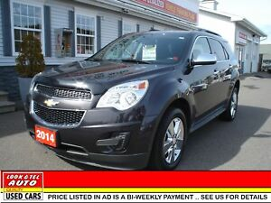2014 Chevrolet Equinox $17995.00 financed price - 0 down payment