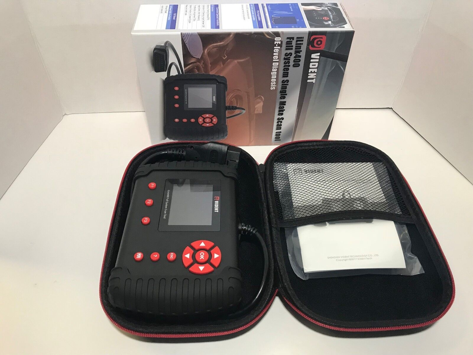 FIAT & ALFA ROMEO Full System OE-Level OBD2 Diagnostic Scan Tool VIDENT iLink400