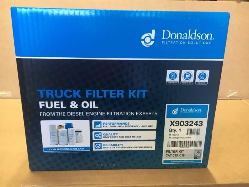 Donaldson Filter Kit suit C15 C16 CAT Caterpillar truck