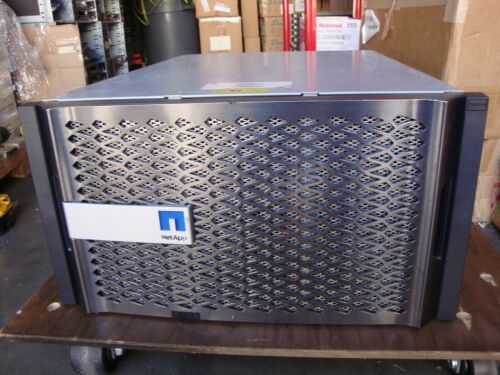 NetApp FAS8040 Filer System w/Dual Controllers FAS8040A w/2x CPU, RAM 111-01209
