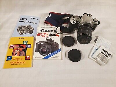 Canon Rebel EOS G 35mm SLR Film Camera with 28-105mm Zoom Lens