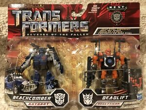 Transformers ROTF Beachcomber and Deadlift