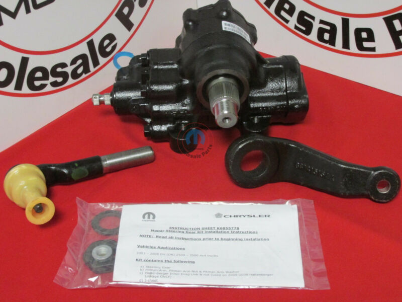 DODGE RAM 2500 3500 4 Wheel Drive ONLY 4X4 Steering Gear Box Assembly OEM MOPAR