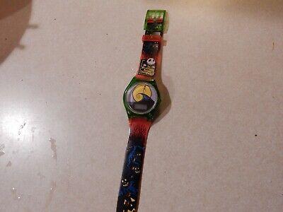 RARE VINTAGE Burger King 1993 Disney's Nightmare Before Christmas Digital Watch