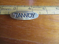 One Of A Pair Of Tannoy Badges From 631 Speakers. Price For One; Two Available. - tannoy - ebay.co.uk