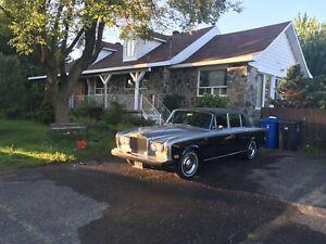 Rolls Royce silvers shadow LWB saloon 1974