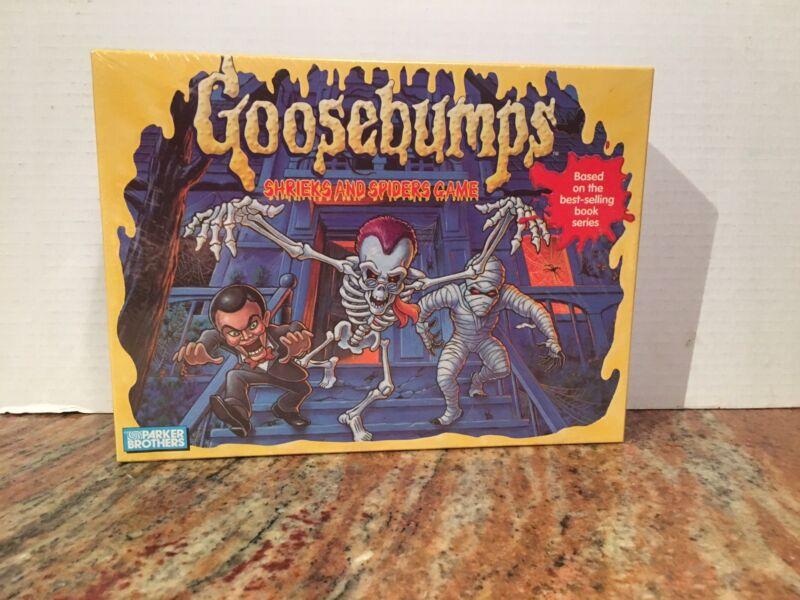 Vintage Goosebumps Shrieks And Spiders Game*1995*Mint*Parker Brothers*Halloween