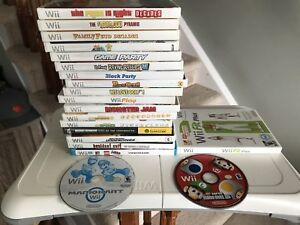 20 Nintendo Wii Games Bundle - Take All for $100