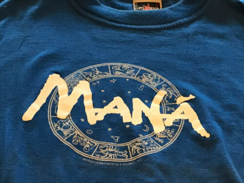 Vintage 90s Mana 2000 Tour Mexican Rock Band Very Rare