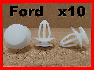 10 Ford door card trim panel fasteners retainer clips