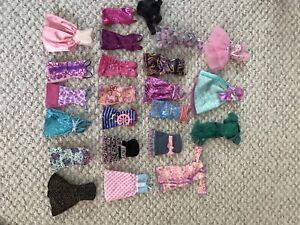 Barbie clothing and barbies