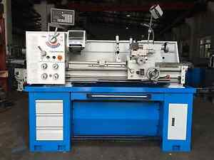 51mm Bore 2HP Metal Lathe 360x1000mm DRO, Coolant, Light, Footbra Coburg North Moreland Area Preview