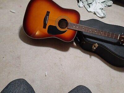 acoustic guitar fender mahogany