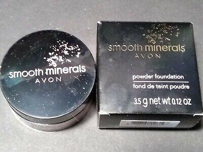 Avon Smooth Minerals Powdered Foundation Avon Mineral Powder