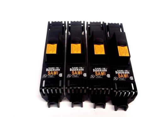 Lot of (4) Eaton Bussman SAMI-1N Non-Indicating Fuse Cover 624 R