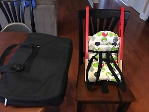 Stokke portable high chair/ booster seat