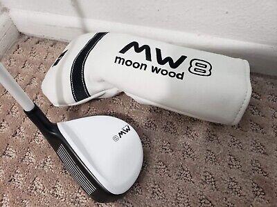MW8 Moon Wood 8 Regular Flex 75G (25) Left-Handed Golf Club w/ Original Cover