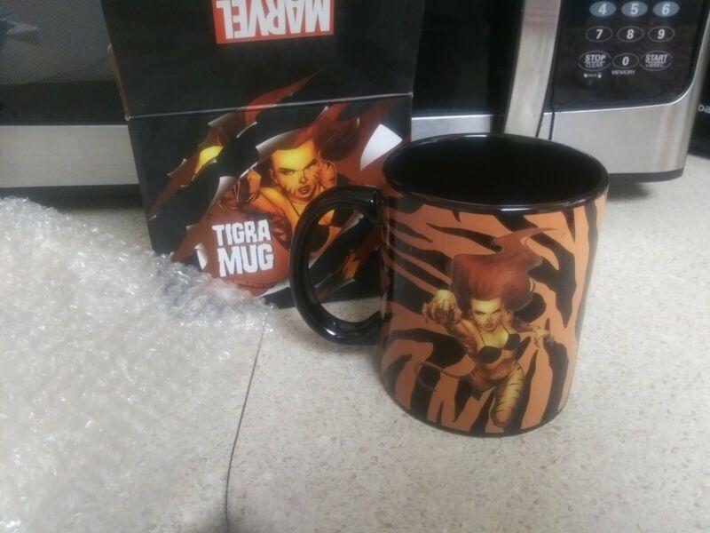Loot Crate Marvel TIGRA coffee mug NIB Marvel Gear and Goods Exclusive