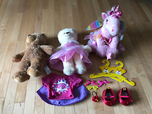 Build-A-Bear Animals and Accessories