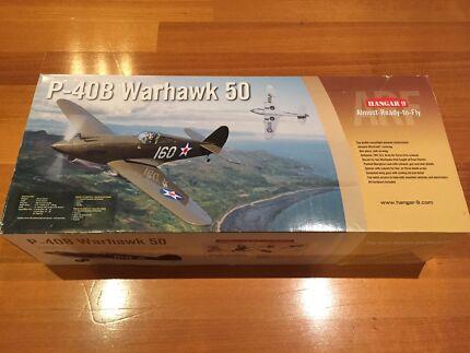 Price Drop - RC Plane Kit - Hangar 9 P-40B Warhawk BNIB