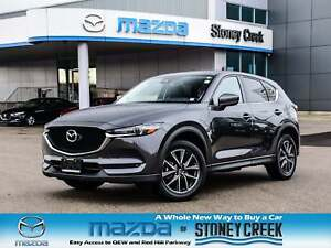 2018 Mazda CX-5 GT Nav Moonfroof  Leather Heated Seats