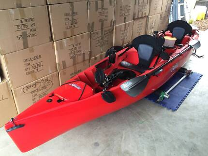 Hobie Mirage Oasis (2 person peddle or paddle kayak) Curlewis Outer Geelong Preview