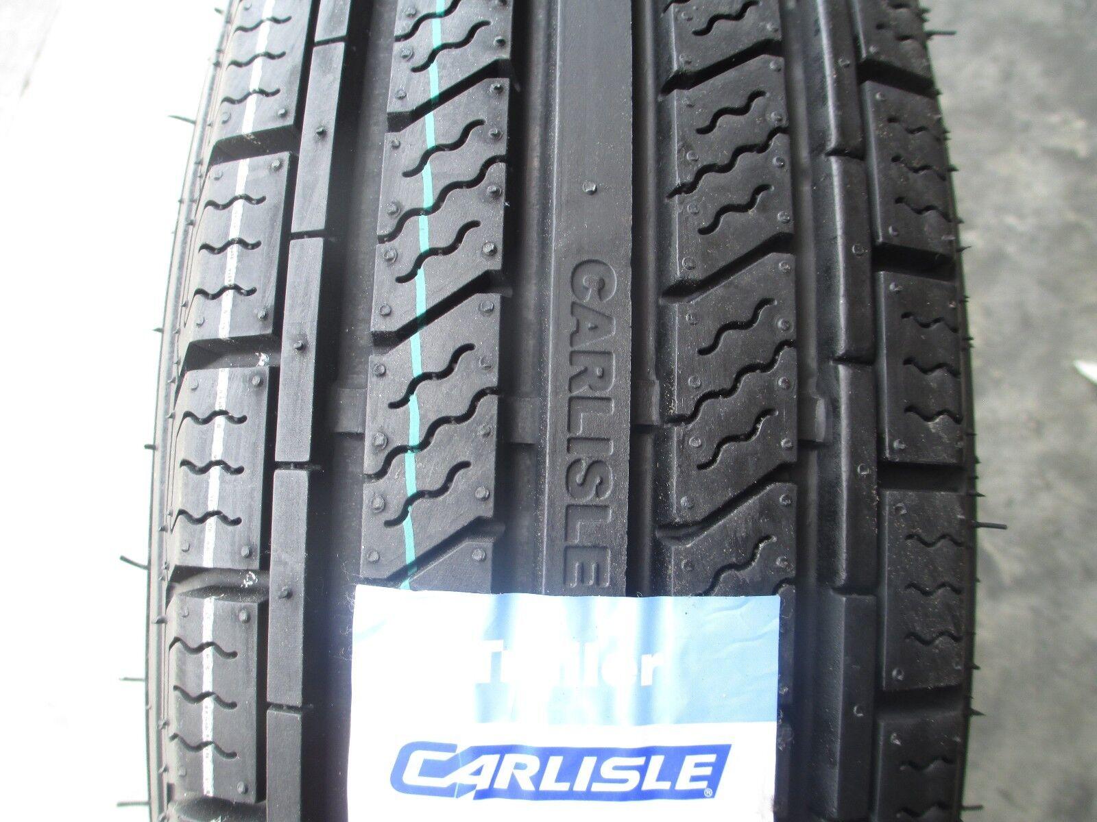 4 New ST 205/75R15 Carlisle Radial HD Trailer Tires 8 Ply 2057515 75 15 R15 D