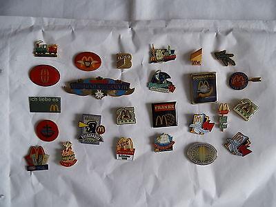 25 McDonald's Pins siehe Fotos