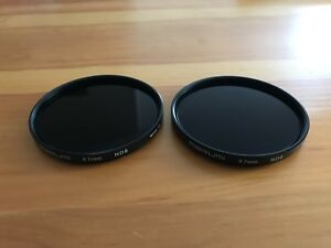 For sale.. 2 Circular neutral density filters 67 mm