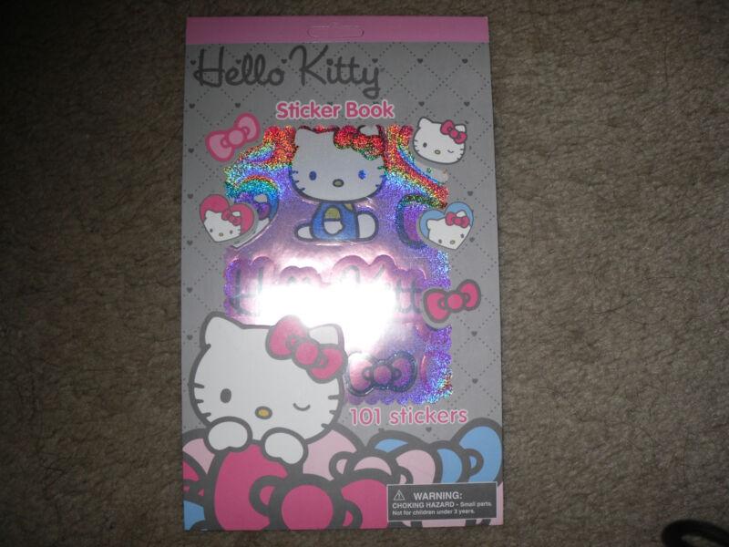 Sanrio Hello Kitty Sticker Book (101 Stickers) -  New!!!