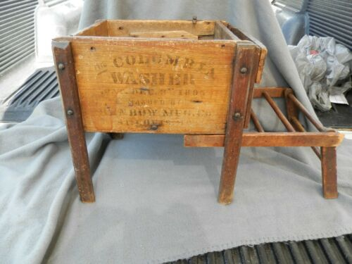 Antique The Columbia Washer Salesman Sample/Store Display 1895 Benbow MFG Co
