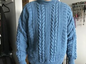 Inverallan pure wool men's sweater fits large  xlarge