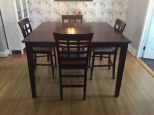 High-Top Dining Room Table for sale