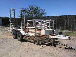 2011 Bobcat Trailer.  Excavator Roller Plant Skidsteer 4500kg 4.5 Perth Perth City Area Preview