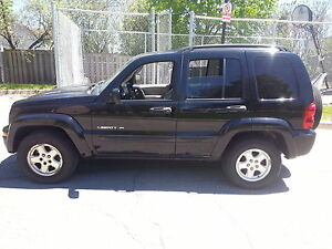 2002 Jeep Liberty .. best offer ever