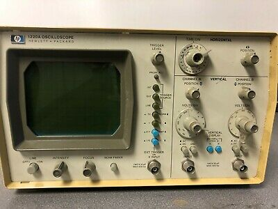 Hewlett Packard 1220a Oscilloscope 2 Channel Rh377x