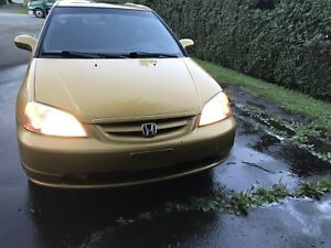 Honda civic Si 2001