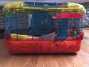 Brand new hamster cage with everything included