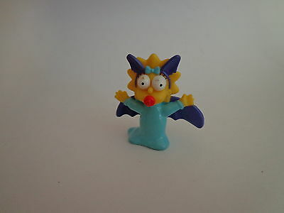 The Simpsons Maggie Simpson Scary Bat Halloween Burger King Toy 2001 Fox - Scary Halloween Burgers