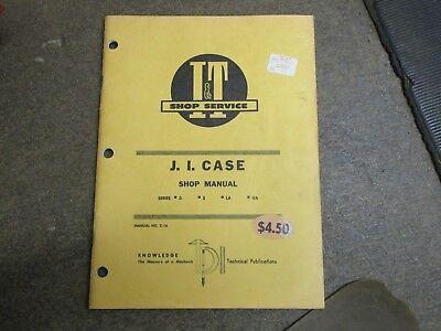 Case D S La Va Tractor I T Repair Sevice Manual